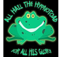 Hail The Hypnosis Frog For All His Glory Photographic Print