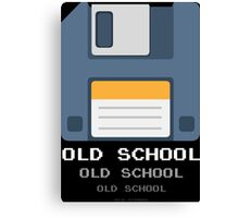 Old Computer Floppy Diskette Canvas Print