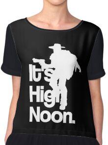 It's High Noon Chiffon Top