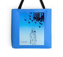 A Party of Jays.  Tote Bag