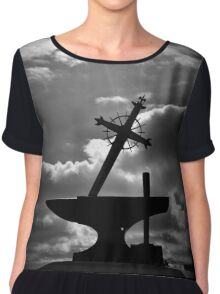 the sword and the stone Chiffon Top