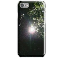 Sun Through The Trees iPhone Case/Skin