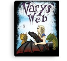 Varys' Web: Some Queen Canvas Print