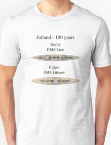 Jutland 100 years - the battlecruisers Unisex T-Shirt