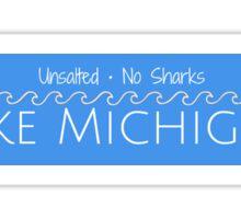 Lake Michigan Logo Sticker