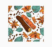 pattern with cinnamon, cardamom, coffee . Unisex T-Shirt