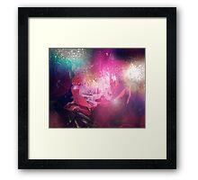 Crimson Rose Framed Print