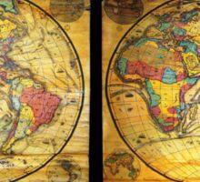 Antique Maps Sticker