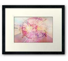Flirtious Breeze Framed Print