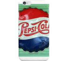 Pepsi Bottle Cap iPhone Case/Skin