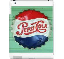 Pepsi Bottle Cap iPad Case/Skin