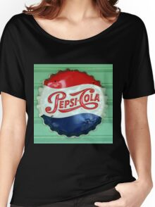 Pepsi Bottle Cap Women's Relaxed Fit T-Shirt
