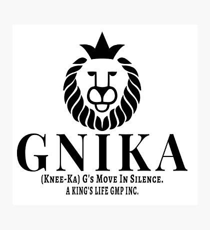 Gnika (knee-ka) aking Photographic Print