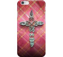 Quilled Simple Cross iPhone Case/Skin