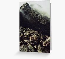 The Knife Edge, Mount Katahdin Greeting Card