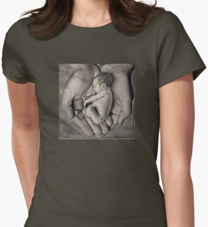 Handle with Care Womens Fitted T-Shirt