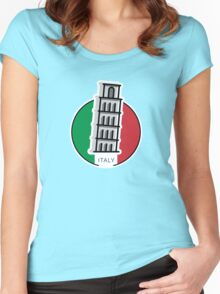 Around the world - Italy Women's Fitted Scoop T-Shirt