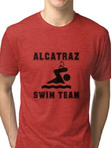 Alcatraz Swim Team Tri-blend T-Shirt
