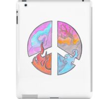 Peace - Four Elements  iPad Case/Skin