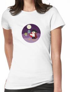 Tiny Dracula  Womens Fitted T-Shirt