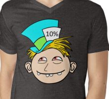 Hat Guy Mens V-Neck T-Shirt