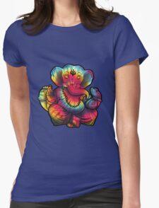 Tie-Dye Ganesha Womens Fitted T-Shirt