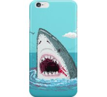 Pixelart shark iPhone Case/Skin