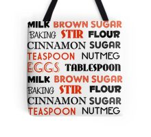 Cinnamon, Sugar and Spice Tote Bag