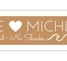 Lake Michigan Logo Sticker