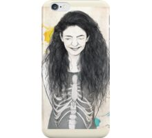 Laugh Until Our Ribs Get Tough iPhone Case/Skin