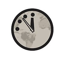 Doomsday Clock by Jai2000and1