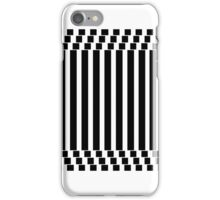 Black & White Thing iPhone Case/Skin