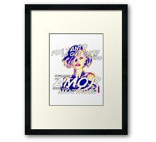 Christina Ricci Framed Print