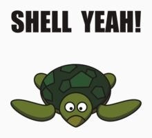 Shell Yeah Turtle Kids Tee