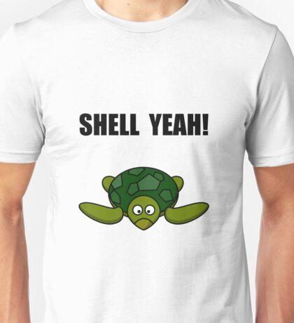 Shell Yeah Turtle Unisex T-Shirt