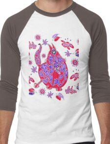 FlowerPuss Men's Baseball ¾ T-Shirt