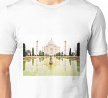 The Taj Mahal at Sunrise in November  Unisex T-Shirt