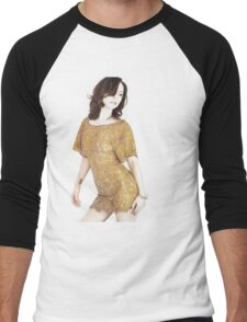 Christina Ricci Men's Baseball ¾ T-Shirt