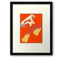 Blaziken Framed Print