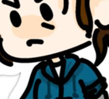 Tiny Bucky  Sticker