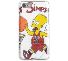AIR SIMPSON-IT'S IN THE SHOES iPhone Case/Skin