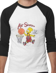 AIR SIMPSON-IT'S IN THE SHOES Men's Baseball ¾ T-Shirt