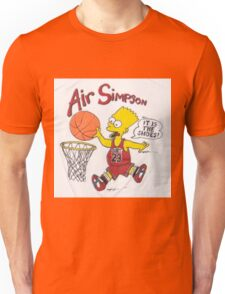 AIR SIMPSON-IT'S IN THE SHOES Unisex T-Shirt