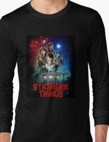 Stranger Things (Goonies) Long Sleeve T-Shirt