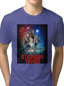 Stranger Things (Goonies) Tri-blend T-Shirt