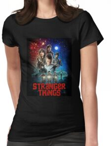 Stranger Things (Goonies) Womens Fitted T-Shirt