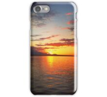 Sunset In Seattle  iPhone Case/Skin