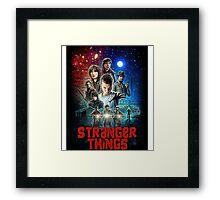 Stranger Things (Goonies) Framed Print