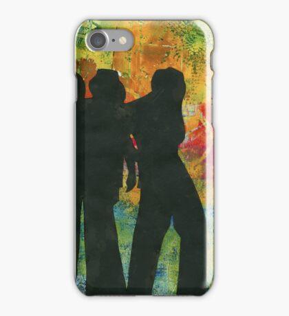Three Cool Dudes iPhone Case/Skin