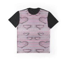 3d heart style desing Graphic T-Shirt